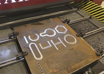 Detalle placa procesada