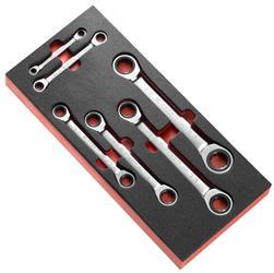 Módulo espuma de 6 llaves poligonales con trinque PEGAMO