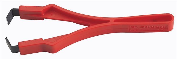 Alicate para decapar cables barnizados
