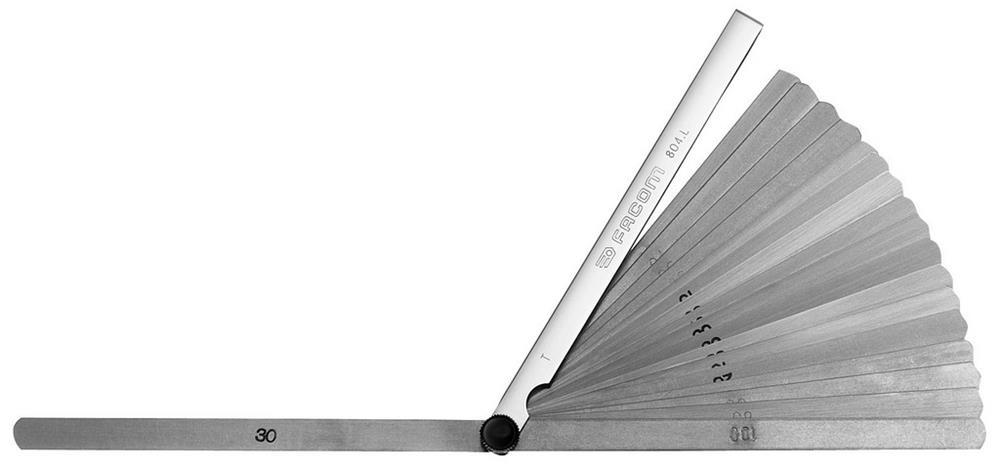 Galgas de espesores métricas de extremo redondo