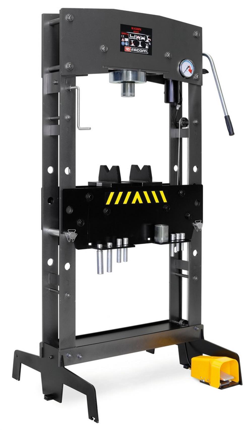 Prensa de taller hidroneumática 50 t PEGAMO