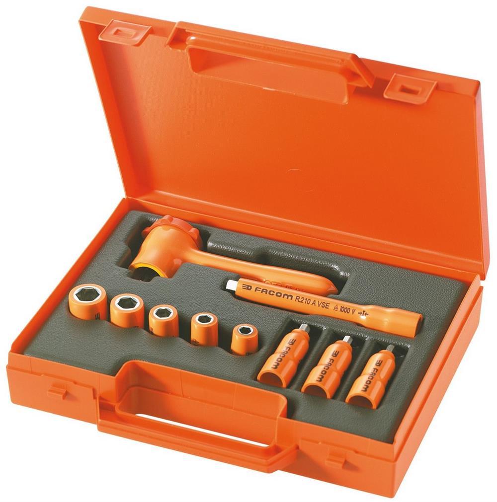 Composición de 10 herramientas con aislamiento 10 PEGAMO