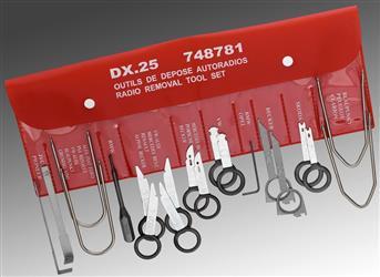 Kit de 20 herramientas para desmontar autorradios