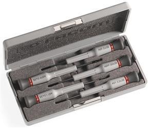 Caja de 5 destornilladores Micro-Tech® Ranura- Ph PEGAMO