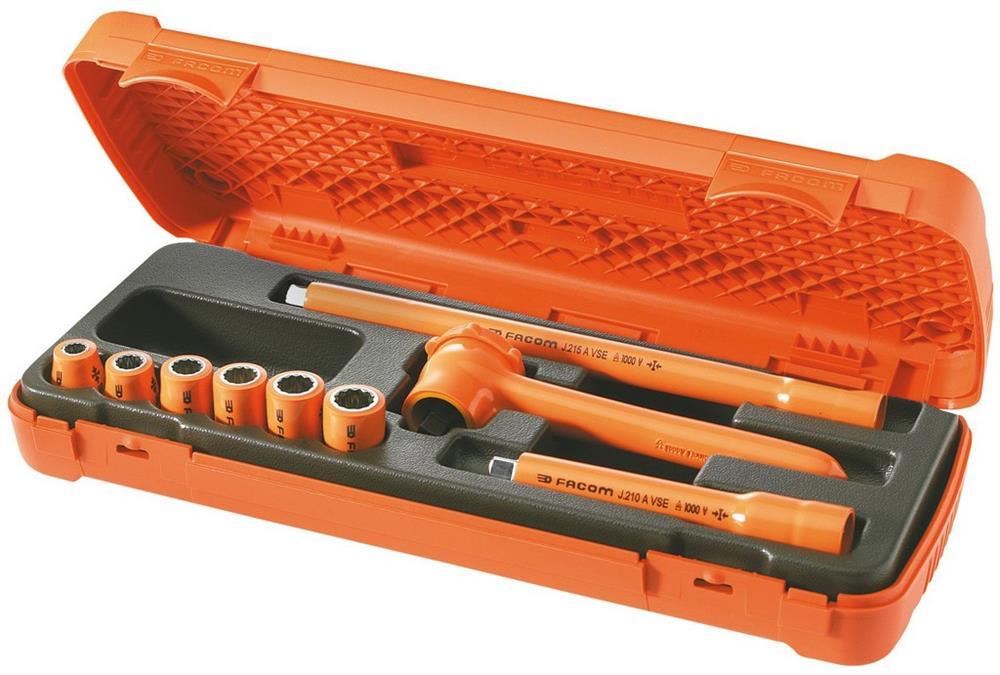 Composición de 9 herramientas aisladas 1.000 Volti