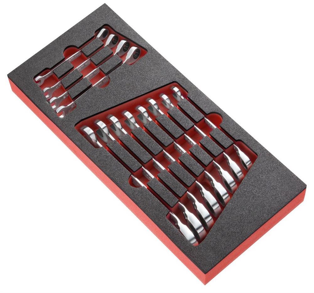 Módulo espuma 12 llaves mixtas en pulgadas PEGAMO