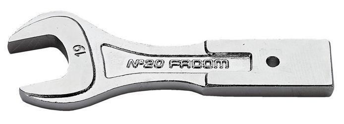 Terminales fijos - fijación 20 x 7 mm