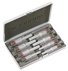 Caja de 8 destornilladores Micro-Tech® Ranura- Ph PEGAMO