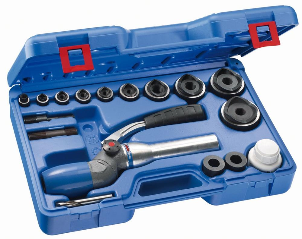 Caja aparato hidráulico 2 posiciones  sacabocados PEGAMO