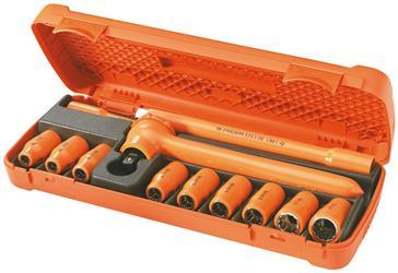 Composición de 12 herramientas aisladas 1.000 Volt