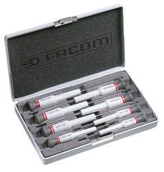 Caja de 8 destornilladores Micro-Tech® Torx® PEGAMO