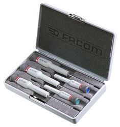 Caja de 5 destornilladores Micro-Tech® Torx® PEGAMO