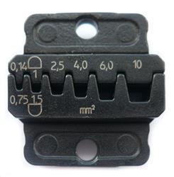 Matriz para puntas de cables