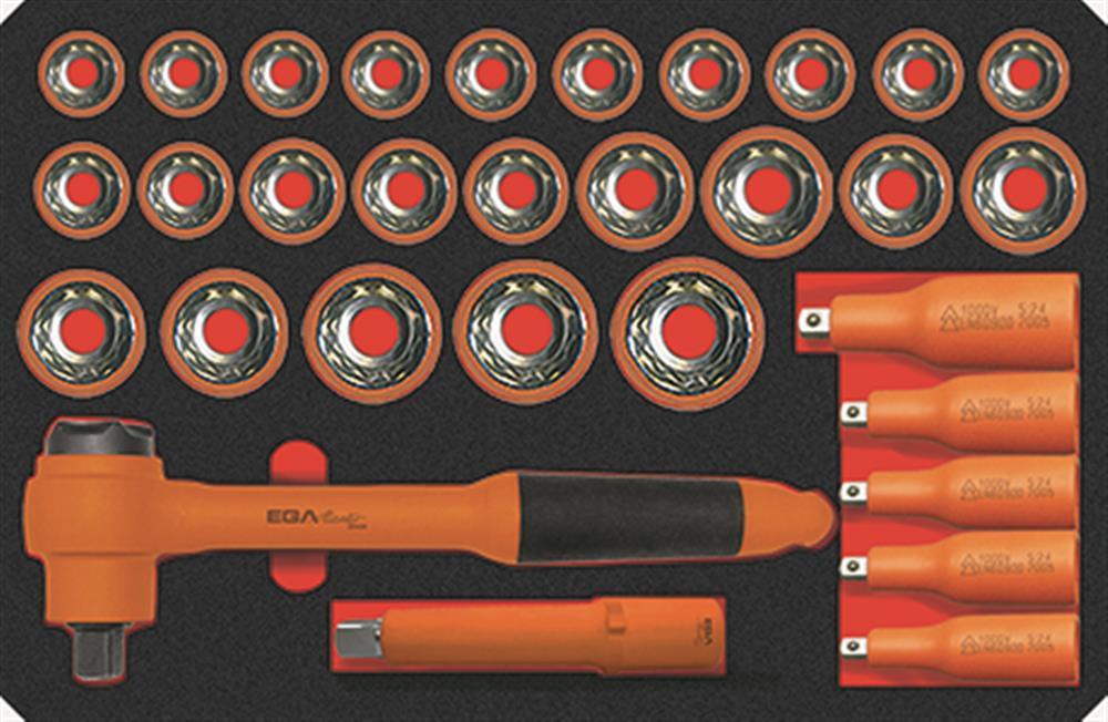 Juegos llaves de vaso 1000V PEGAMO