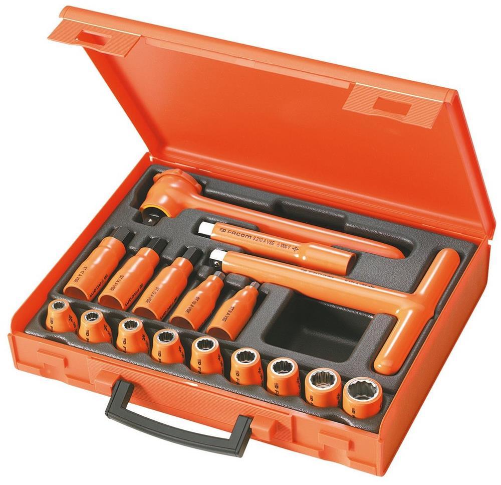 Composición de 17 herramientas aisladas 1.000 Volt