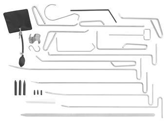 Composición de 34 herramientas para desabollar si PEGAMO