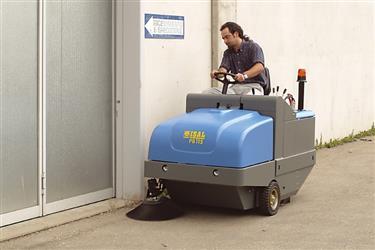 ISAL ISAL Barredoras conductor sentado | PB 115
